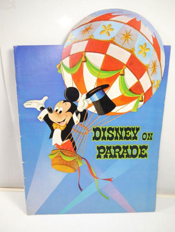 DISNEY ON PARADE Programmheft Heft program booklet Disney Land (WR2)