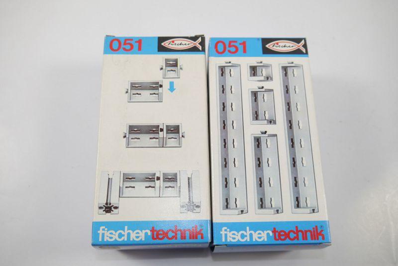 FISCHERTECHNIK  2 x 051 Ergänzungs Box Neu  (MF15)C