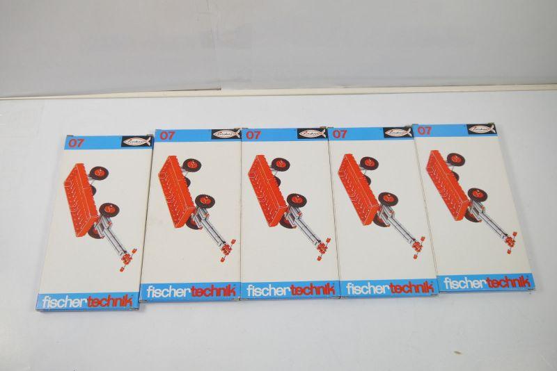 FISCHERTECHNIK 5 x 07  Ergänzungs Box Neu  (MF12)H