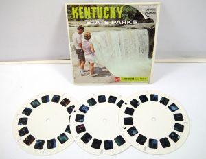 VIEWMASTER Kentucky State Parks - 3 Bildscheiben gaf *K60 #E