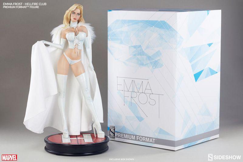 Marvel EMMA FROST Hellfire Club Premium Format Figur Statue SIDESHOW ca.51cm (L)