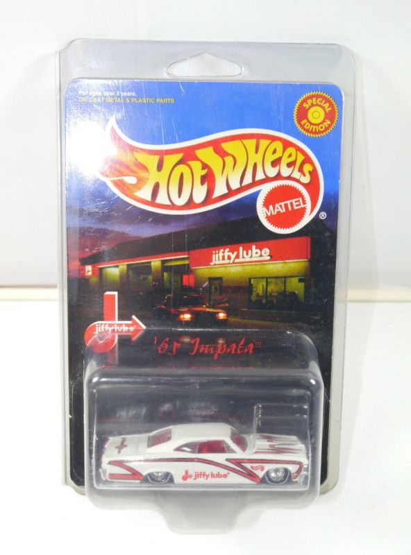 HOT WHEELS Special Edition - Impala 1965 jiffy lube Modellauto MATTEL Neu (K13)