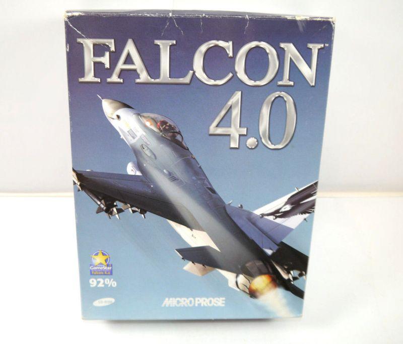 FALCON 4.0 Spiel CD-Rom MICRO PROSE komplett auf Deutsch Flugsimulator (K13)