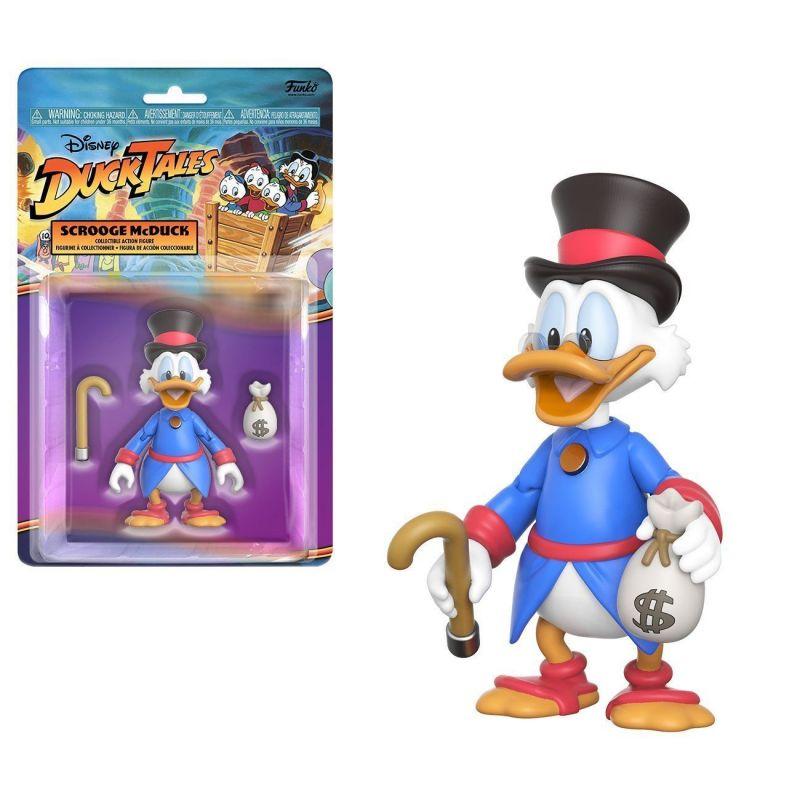 Disney DUCK TALES Scrooge McDuck / Dagobert Duck Actionfigur FUNKO Neu (L)
