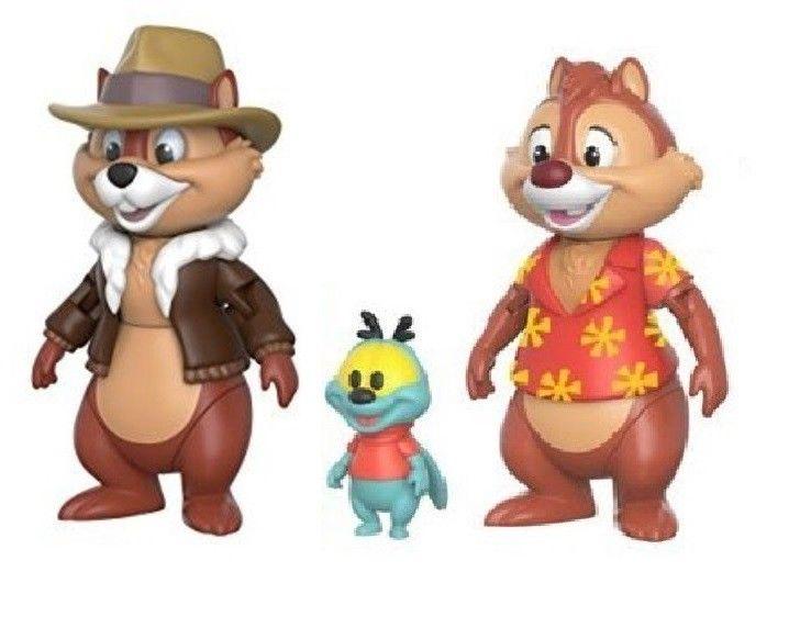 Disney CHIP 'N' DALE Chip & Chap Actionfigur Set FUNKO Neu (L)
