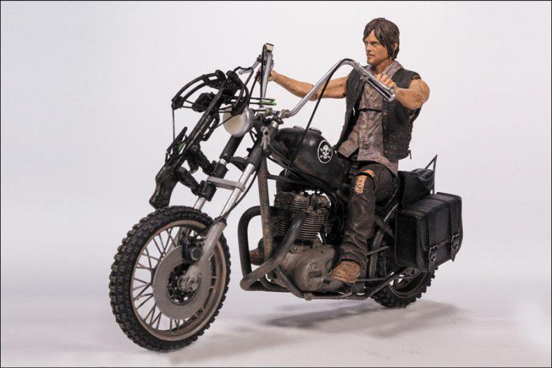 THE WALKING DEAD Daryl Actionfigur mit Bike Series 5 McFARLANE Neu (L)