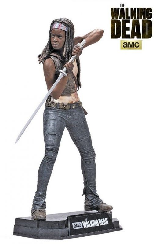 THE WALKING DEAD #2 Michonne Actionfigur McFARLANE Color Tops Neu (L)