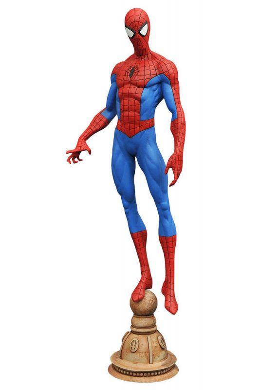 Marvel THE AMAZING SPIDER-MAN Figur PVC Diorama GALLERY Diamond Select Neu (L)