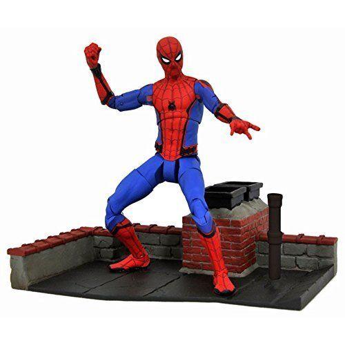 MARVEL SELECT Spider-Man Homecoming Actionfigur DIAMOND SELECT TOYS Neu (L)