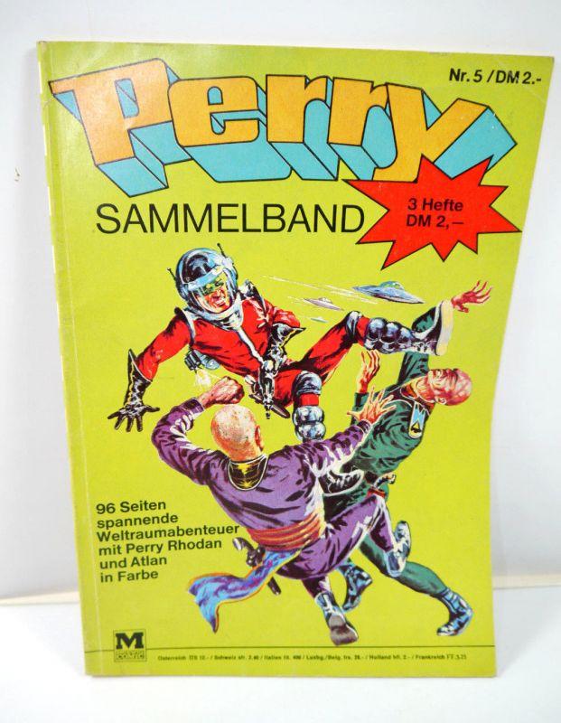 PERRY Rhodan Sammelband Heft 5 Comic / 96 Seiten MOEWIG VERLAG (MF13)