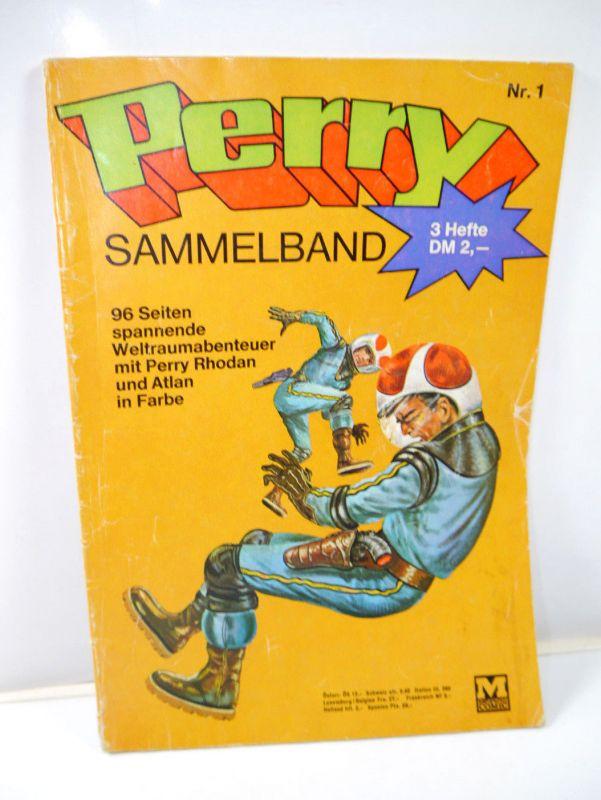PERRY Rhodan Sammelband Heft 1 Comic / 96 Seiten MOEWIG VERLAG (MF13)
