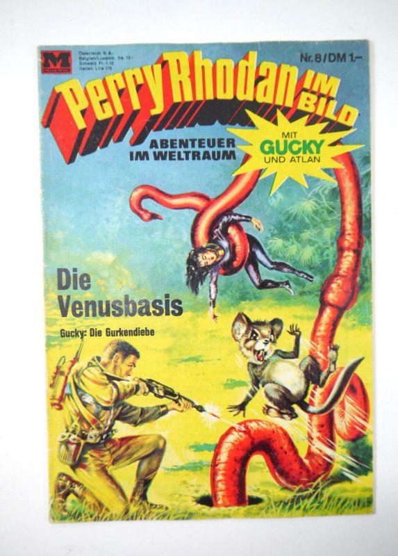 PERRY RHODAN im Bild : Heft 8 - Die Venusbasis Comic MOEWIG VERLAG (MF13)