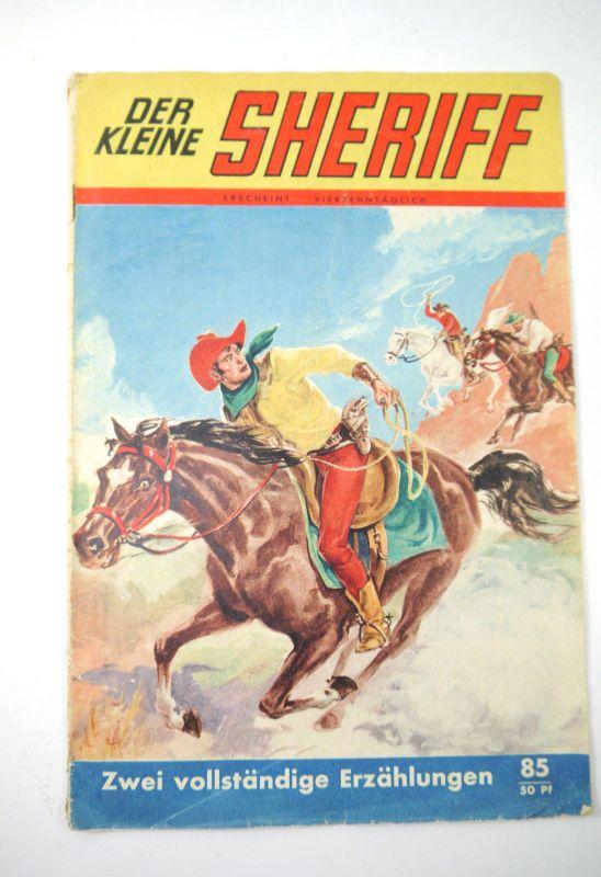 DER KLEINE SHERIFF Der rote Reiher / Der weiße Orkan Comic Heft (MF13)
