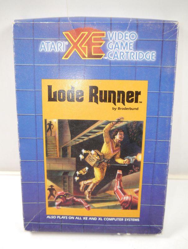 ATARI XW / XL - LODE RUNNER Spiel game mit Anleitung RX8082 (K3)