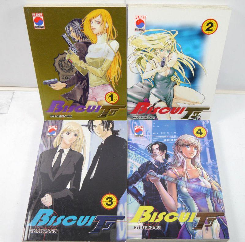 BISCUIT Band 1 2 3 4 Manga KOMPLETT Seung-Hui PLANET MANHWA (MF16)