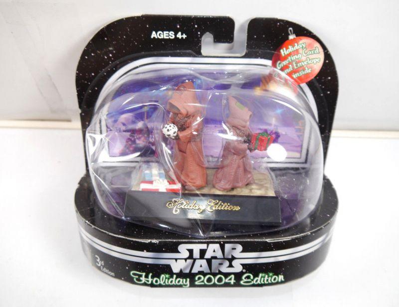 STAR WARS Holiday 2004 Edition - Jawa Figur Weihnachten christmas HASBRO Neu (L)