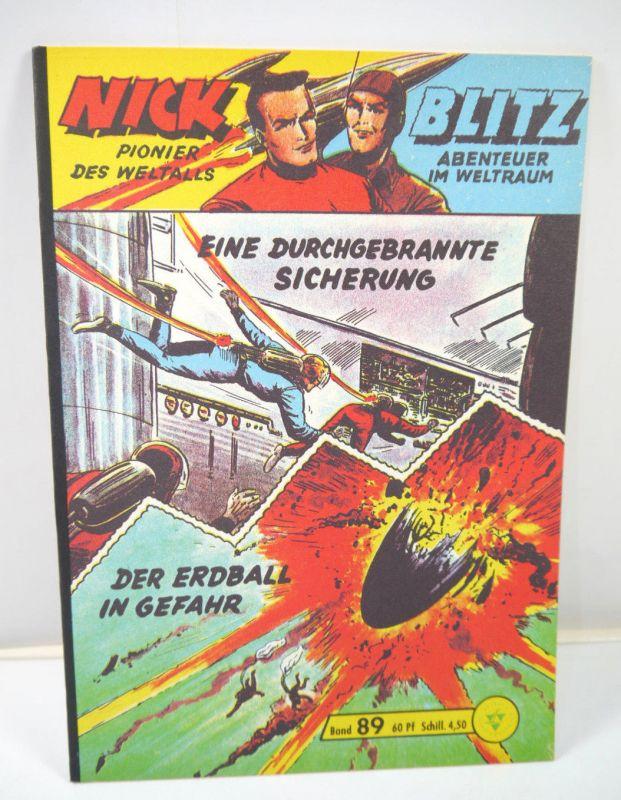 NICK & BLITZ Heft 89 Comic HETHKE Nachdruck (MF18)