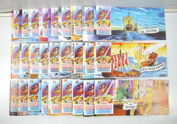 KLAUS STÖRTEBEKER Heft 1 - 27 Piccolo Comic Nachdruck DARGATZ (K63)