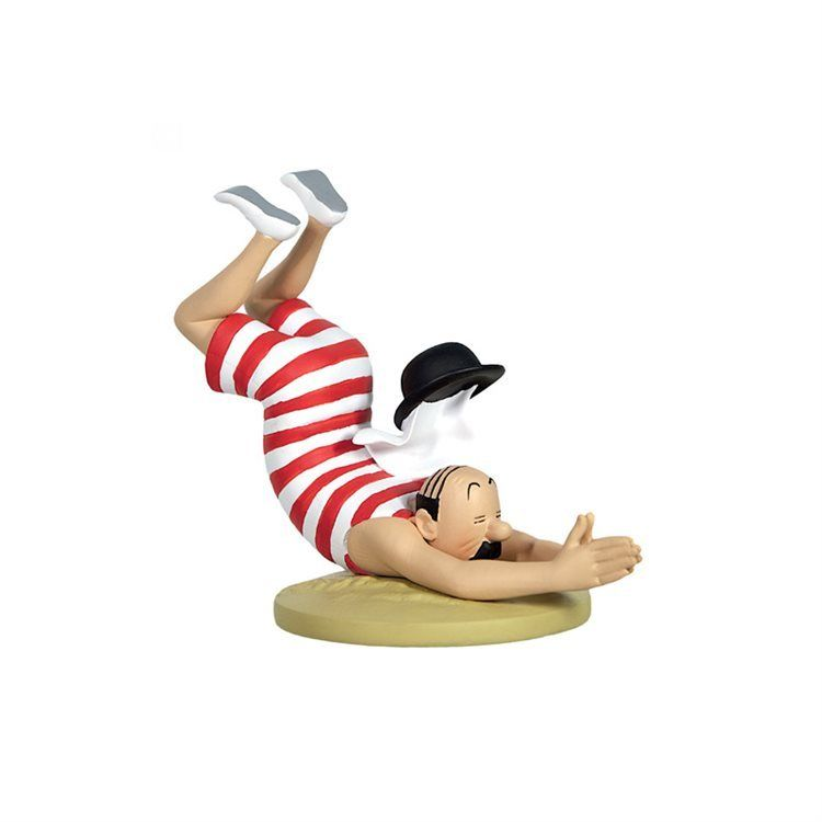 TIM & STRUPPI Tintin Schulze im Badeanzug Figur MOULINSART ca. 8,5cm NEU (L)