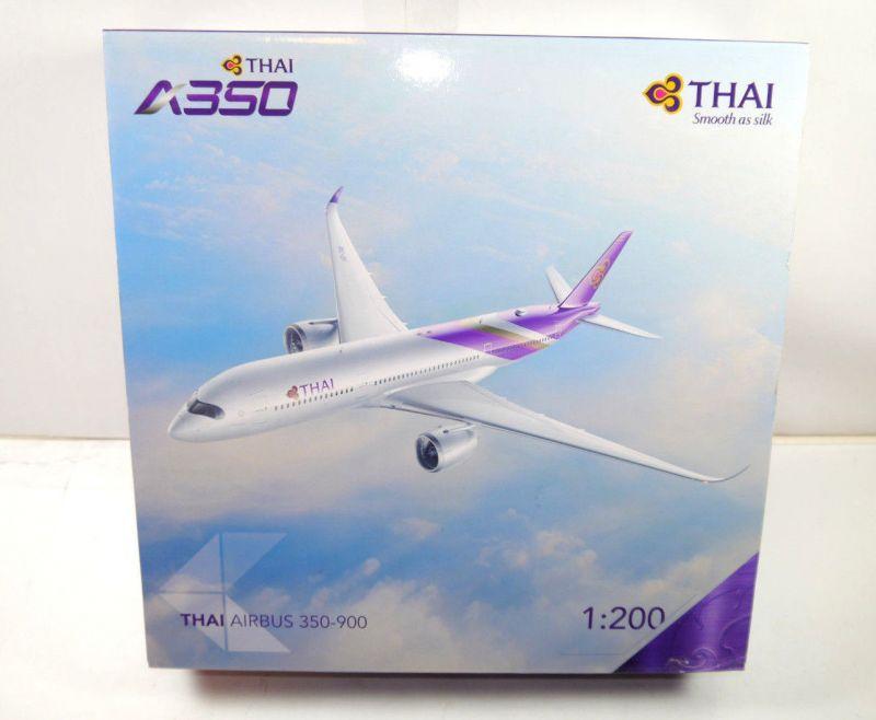 THAI Airbus 350-900 Flugzeugmodell Standmodell 1:200 mit OVP (MF21)