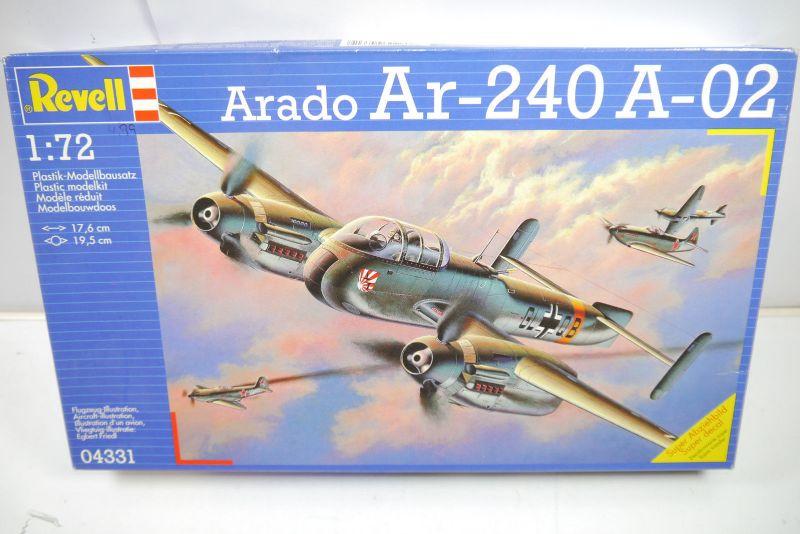 REVELL 04331 Arado Ar-240 A-02 Flugzeug Modellbausatz 1:72 (MF22)