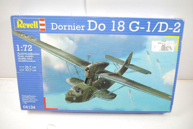REVELL 04134 Dornier Do 18 G-1/D-2 Flugzeug Modellbausatz 1:72 (MF22)