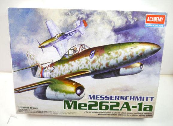 ACADEMY 12410 Messerschmitt Me262A-1a Flugzeug Modellbausatz 1:72 (MF22)