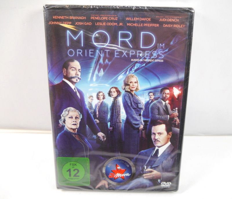 MORD IM ORIENT EXPRESS Murder on the orient express DVD Johnny Depp NEU (WR4)