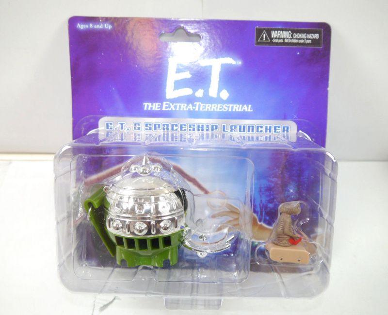 E.T. Der Außerirdische - E.T. Figur + Spaceship Launcher Set NECA Neu (L)