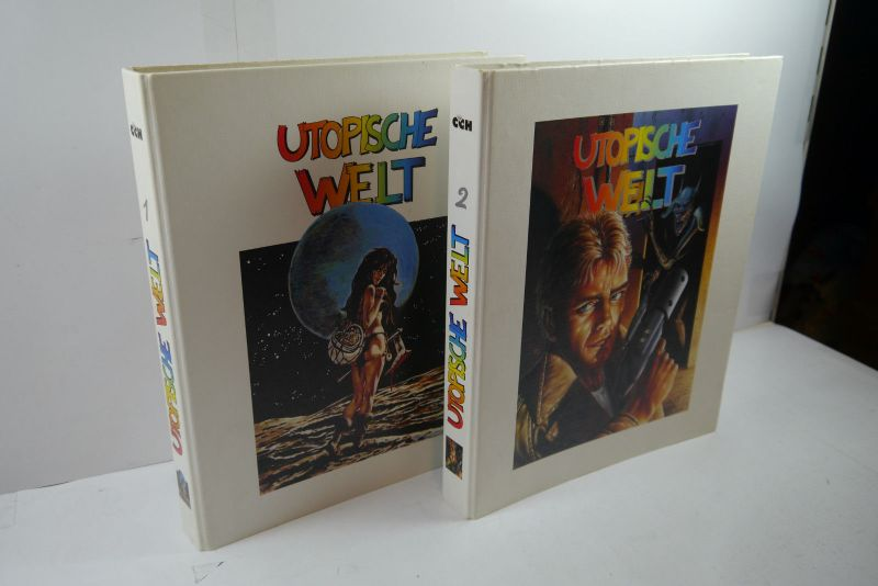 Utopische Welt 2 Sammelordner ( 1+2 ) für Piccolos CCH Comic Club Hannover MF14