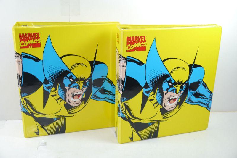 MARVEL COMICS  2  Sammelordner für Comics  mit Folien ULTRA PRO Wolverine (MF19)