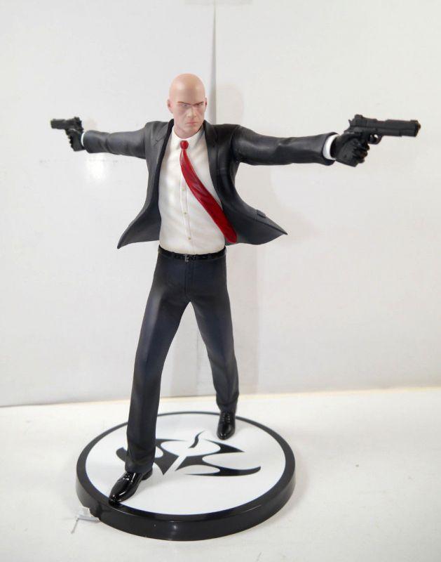 HITMAN Agent 47 Statue Figur SQUARE ENIX Gaya ca.22cm - mit OVP (L)