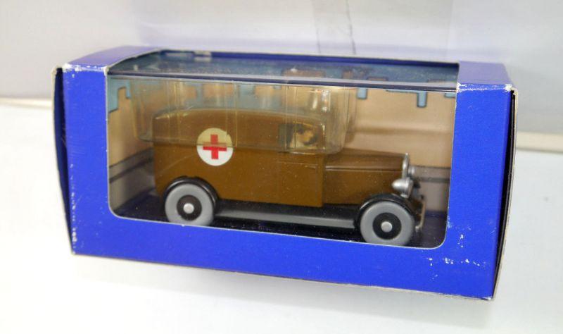 TIM & STRUPPI tintin - Krankenwagen / Tim in Amerika Modellauto 1:43 (L)