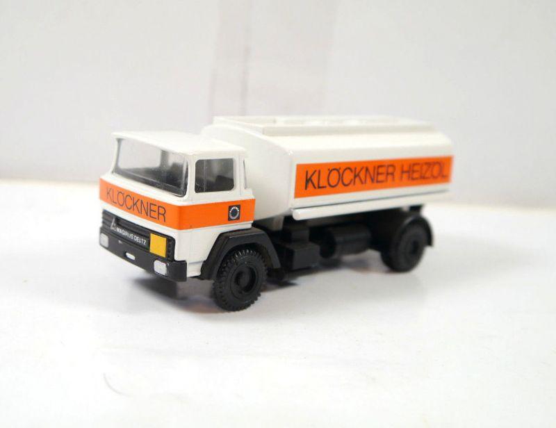 CURSOR MODELL Klöckner Heizöl Magirus Deutz Werbemodell Modellauto 1:43 (K61)