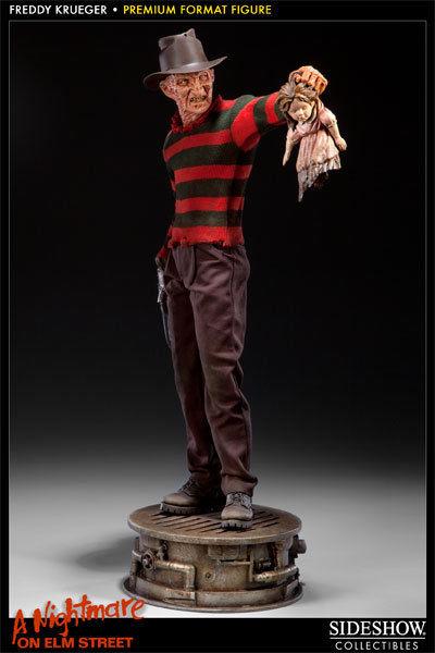 NIGHTMARE ON ELM STREET Freddy Krueger Premium Format Statue SIDESHOW ca.54cm *L