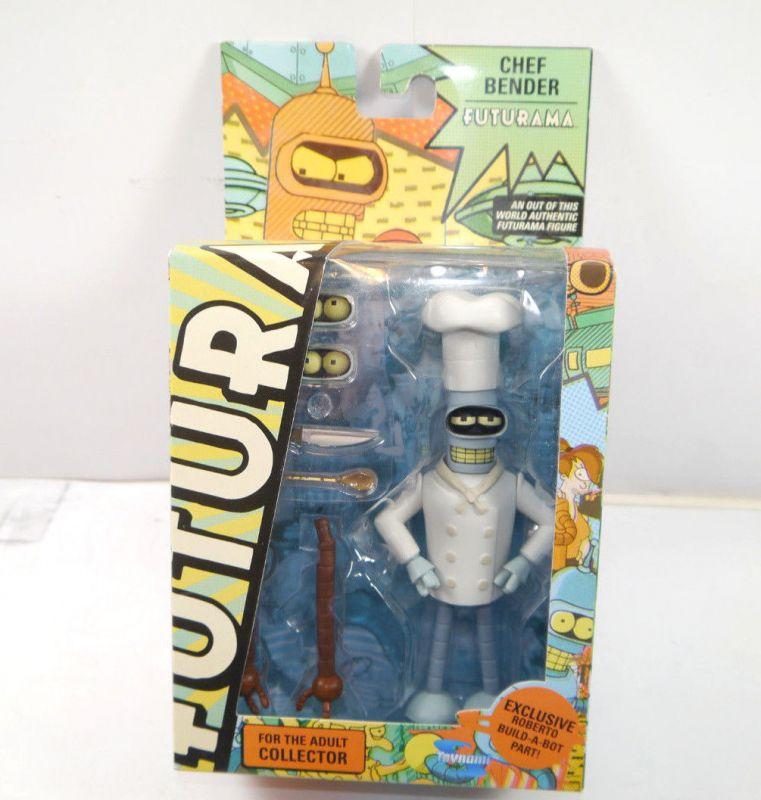 FUTURAMA Adult Collector - Chef Bender Actionfigur TOYNAMI ca.17cm Neu (L)