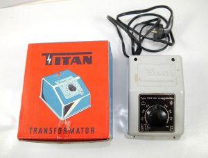 TITAN Transformator Trafo Type 806 GI für rapido Wechselstrom - mit OVP (K79)