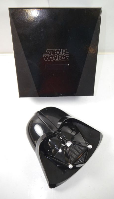 STAR WARS Coin Set - Darth Vader Box mit 4 Sammelmünzen gold plated MINT (K63)