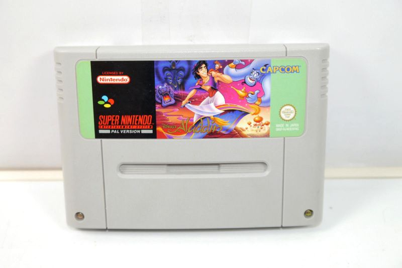 Disney ALADDIN Spiel game Capcom SUPER NINTENDO SNES (K32) #06