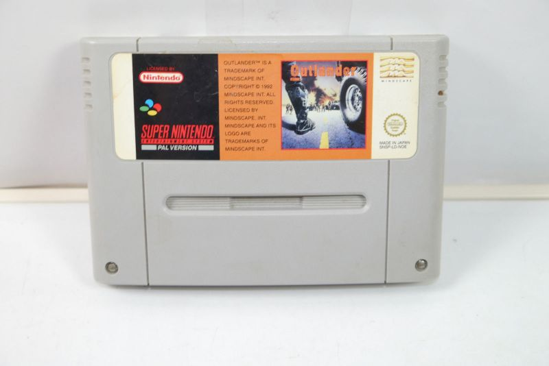 OUTLANDER Spiel game SUPER NINTENDO SNES (K32) #03
