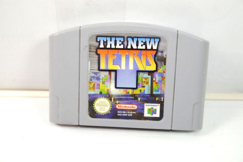 THE NEW TETRIS Spiel game NINTENDO 64 (K32) #01