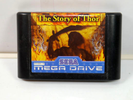 THE STORY OF THOR Spiel game SEGA MEGA DRIVE (K73) #05