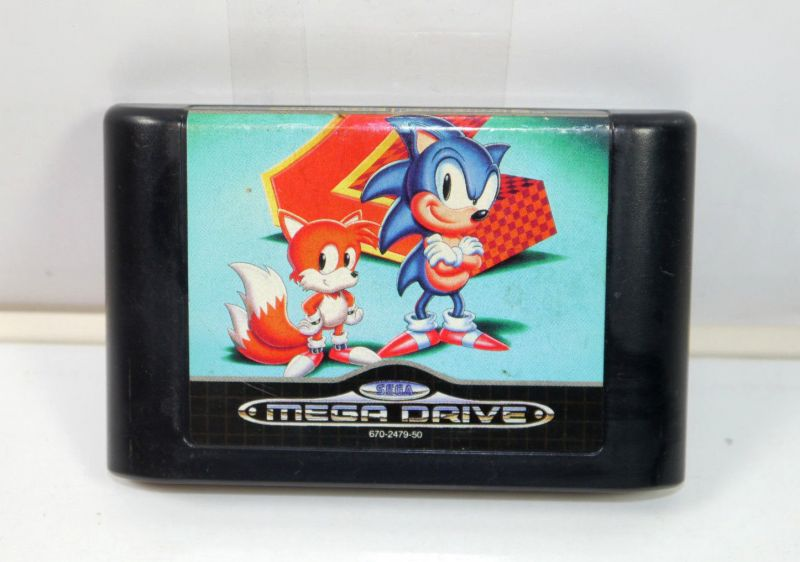 SONIC The Hedgehog 2 Spiel game SEGA MEGA DRIVE (K73)#04