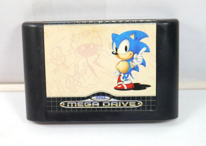 SONIC The Hedgehog Spiel game SEGA MEGA DRIVE (K73)#03