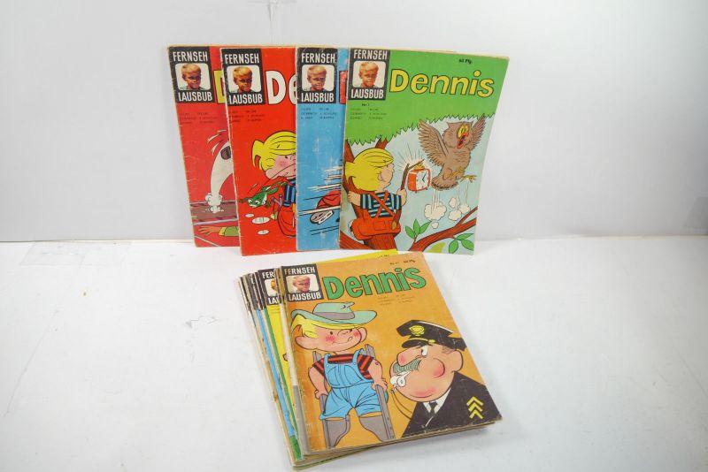 Fernseh Lausbub Dennis 16 Hefte Großband  Tessloff Verlag  Z : 3 bis 4-  (MF16)