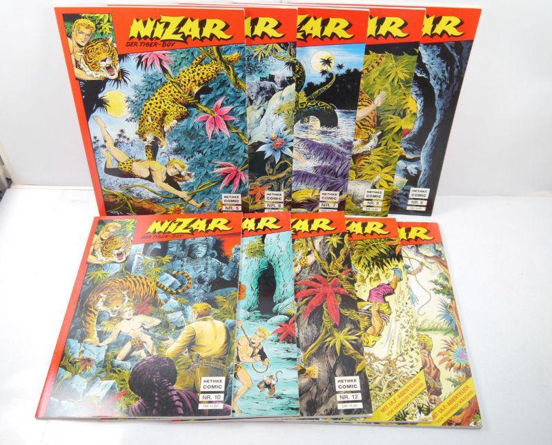 NIZAR Tiger-Boy Sammlerausgabe Nr. 5 6 7 8 9 10 11 12 13 14 Comic SC HETHKE *WR5