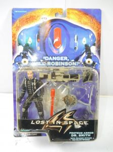 LOST IN SPACE Proteus Armor Dr. Smith Actionfigur TRENDMASTERS ca.12cm Neu (K29)