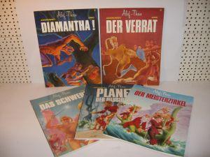 Alef - Thau Band 1 - 5    1. Auflage  comicArt  SC  Zustand  : 2 (L)