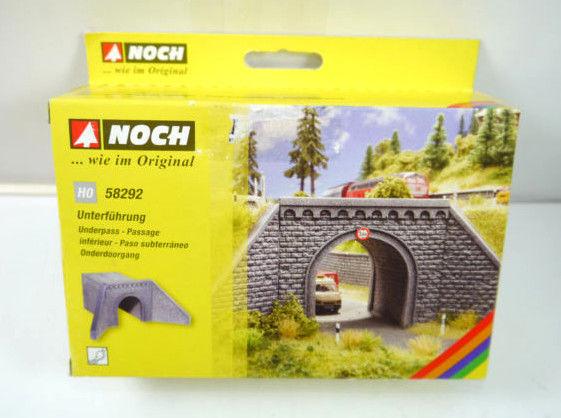 NOCH 58292 Unterführung Brücke underpass Plastik Modellbausatz H0 Neu (K49a)
