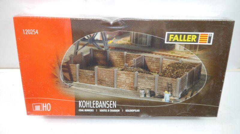FALLER 120254 Kohlebansen Plastik Modellbausatz H0 Neu (MF16)
